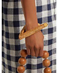 Bracelet oversize à design géométrique Cult Gaia en coloris Multicolor
