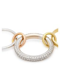 Spinelli Kilcollin Metallic Venus 18kt Gold And Diamond Ring