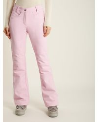 Toni Sailer Pink Ethel Slim-leg Technical Ski Trousers