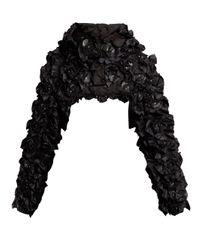 6 Moncler Noir Kei Ninomiya Pearl ハイネック ボンバージャケット Black