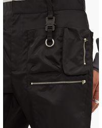 メンズ 1017 ALYX 9SM マルチポケット テクニカルツイル ショートパンツ Black
