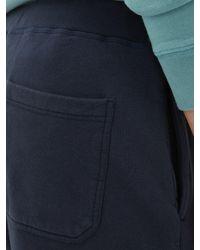 メンズ Sunspel ミッドライズ コットンジャージー ショートパンツ Blue