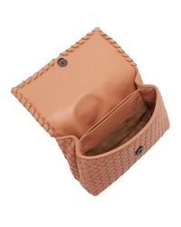Bottega Veneta Multicolor Olimpia Intrecciato Leather Shoulder Bag