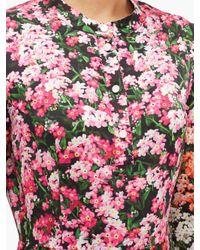 Mary Katrantzou デスミン フローラルツイル マキシドレス Multicolor