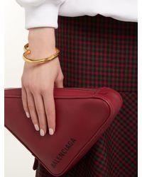 Balenciaga Metallic Heart Bracelet