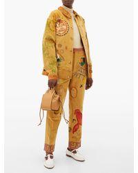 Bode Senior コットンコーデュロイジャケット Multicolor