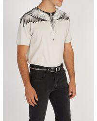Balmain Black Zip Detailed Leather Belt for men