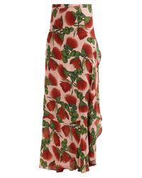 Adriana Degreas Fiore Pareo フローラルプリント ラップスカート Multicolor
