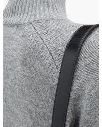 Cefinn モックネック ウールブレンドセーター Multicolor
