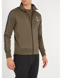 Marcelo Burlon - Multicolor Kappa Contrast-panel Zip-up Sweatshirt for Men - Lyst