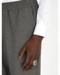 Gucci - Metallic Large Garden Ring for Men - Lyst