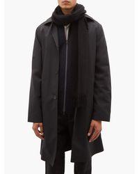 Écharpe en cachemire brossé à franges Paul Smith pour homme en coloris Black