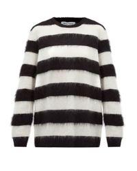 Bella Freud ボーダー モヘアブレンドセーター Multicolor