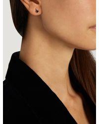 Loren Stewart | Blue Diamond, Sapphire & Yellow-gold Earrings | Lyst