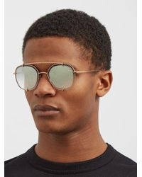 Dita Eyewear Metallic Talon Sunglasses for men