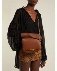 Saint Laurent - Brown Betty Leather Cross-body Bag - Lyst