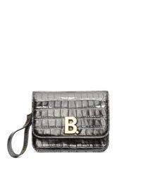 Sac en cuir effet crocodile Everyday XXS Balenciaga en coloris Black