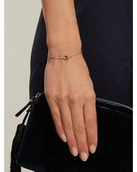 Marie Mas - Metallic Small Diamond, Amethyst, Topaz & Gold Bracelet - Lyst