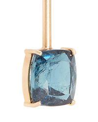 Irene Neuwirth - Metallic Diamond, Tourmaline & Rose Gold Earring - Lyst