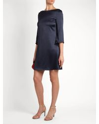 Diane von Furstenberg Blue Korrey Dress
