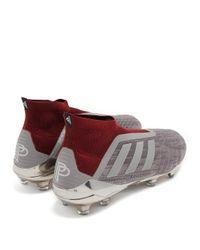 Adidas Originals - Gray Predator 18+ Football Trainers for Men - Lyst