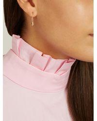 Loren Stewart - Metallic Rose-gold Earrings - Lyst