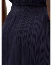 Pleats Please Issey Miyake テクニカルプリーツスカート Blue