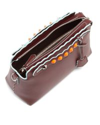 Fendi | Multicolor By The Way Embellished Leather Cross-body Bag | Lyst