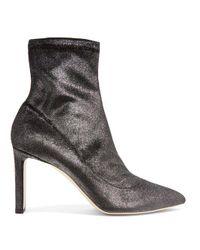 Jimmy Choo Metallic Louella Boots