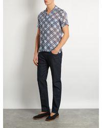 Giorgio Armani - Blue Straight-leg Jeans for Men - Lyst