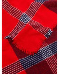 Écharpe en cachemire mélangé Beaufort Ladakh Begg & Co pour homme en coloris Red
