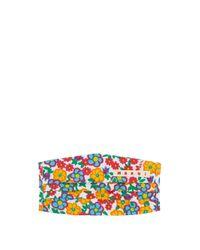Marni フローラル コットンマスクカバー Multicolor