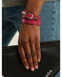 Balenciaga | Pink Classic Bracelet L | Lyst
