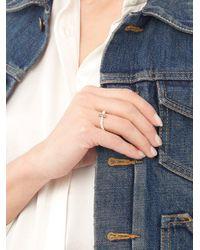 Anissa Kermiche - Multicolor Diamond, Pearl & Rose-gold Ring - Lyst