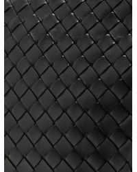 Bottega Veneta Black Parachute Intrecciato Small Leather Bag