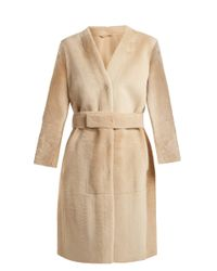 Max Mara Studio Natural Tarso Coat