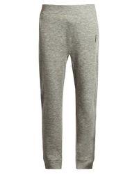 Raey Gray Pocket-front Cashmere-blend Track Pants for men