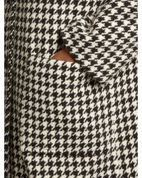 Marni Black Houndstooth Coat