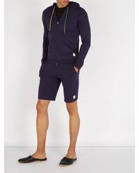 Paul Smith Blue Cotton Jersey Shorts for men