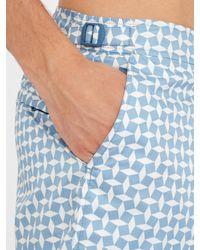 Orlebar Brown - Blue Jack Huron-print Swim Shorts for Men - Lyst