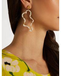 Lucy Folk Multicolor Mirage Pearl Earrings