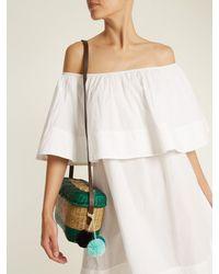 Apiece Apart - White Piper Petal Off-the-shoulder Cotton Dress - Lyst