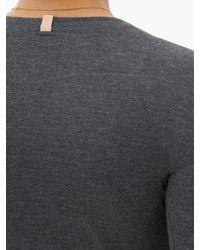 Haut manches longues en coton mélangé Restore Lunya en coloris Gray