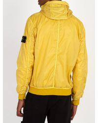 Stone Island - Yellow Lightweight Jacket for Men - Lyst