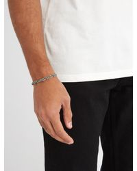 Emanuele Bicocchi - Metallic Bracelet In 925 Sterling Silver for Men - Lyst