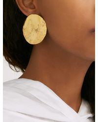 Boucles d'oreilles en plaqué or 22 carats Lunar MISHO en coloris Multicolor