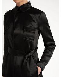 Diane von Furstenberg Black Blaine Two Coat