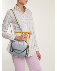 Stella McCartney - Multicolor Falabella Mini Faux-suede Cross-body Bag - Lyst