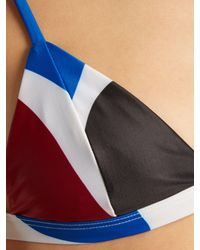 Mara Hoffman Green Astrid Triangle Bikini Top