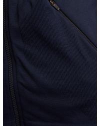 LNDR Blue Blackout Zip-through Performance Jacket